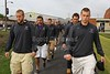 The Team Jacket Walk - Saturday, September 22, 2012 - Anderson University Ravens at Defiance College Yellow Jackets