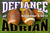 Saturday, September 8, 2012 - Defiance College Yellow Jackets at Adrian College Bulldogs