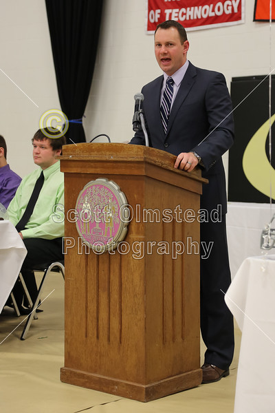 Sunday, January 27, 2013 - Foundation Celebration, the Defiance College Yellow Jackets 2012 Football Season Banquet