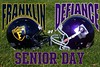 Saturday, October 27, 2012 - Franklin College Griz at Defiance College Yellow Jackets - Senior Day