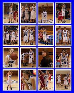 Girl's Basketball Poster
