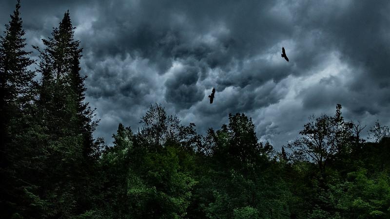 Orage d'été - Saint-Sauveur