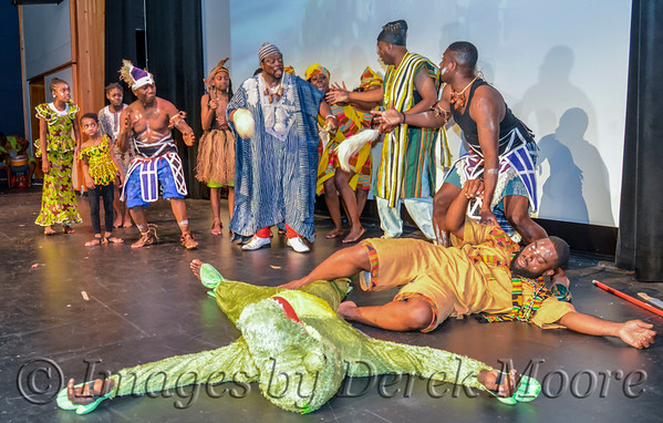 """Dehkontee Artists Theatre Production of """"Love for Mymah"""", Written and Directed by Joe Gbaba"""
