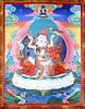 SD-309-08 Guru Rinpoche (Padmasambhava) and Mandarava-Painted in Mongolia, by Soyolmaa - KPC thanka