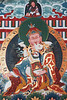 Guru Rinpoche (Padmasambhava)and consort Yeshe Tsogyal
