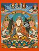 Guru Rinpoche (Padmasambhava) Tsokye Dorje-LakeBorn Vajra, from Nam Chö Ngöndro book