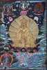 Guru Rinpoche (Padmasambhava) with Rainbow body - KPC thanka