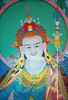 Guru Rinpoche (Padmasambhava) painting by Lama Sonam, at Tashi Chöling.