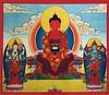 Amitabha drawing by Khenchen Tsewang Gyatso