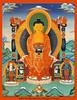 Buddha Amitabha-Avalokitshvara-Vajrapani, from Nam Chö Ngöndro book