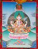 Chenrezig (Avalokiteshvara) - KPC Thanka