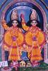 Shri Shri Gaura Gadadhara in Yogapitha