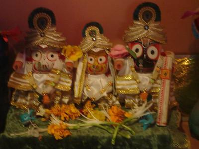 Jagannatha Deities