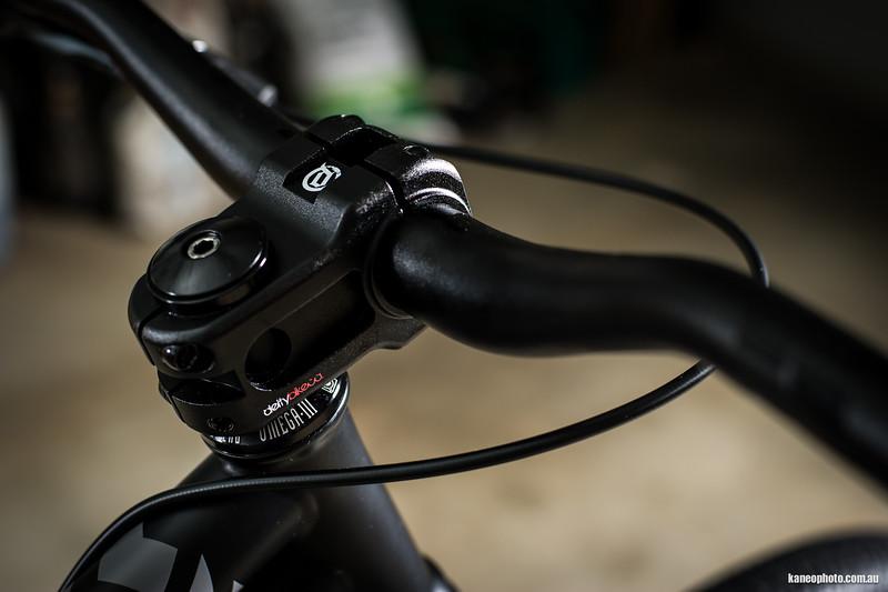 The Phantom stem on Token Omega sealed bearings.