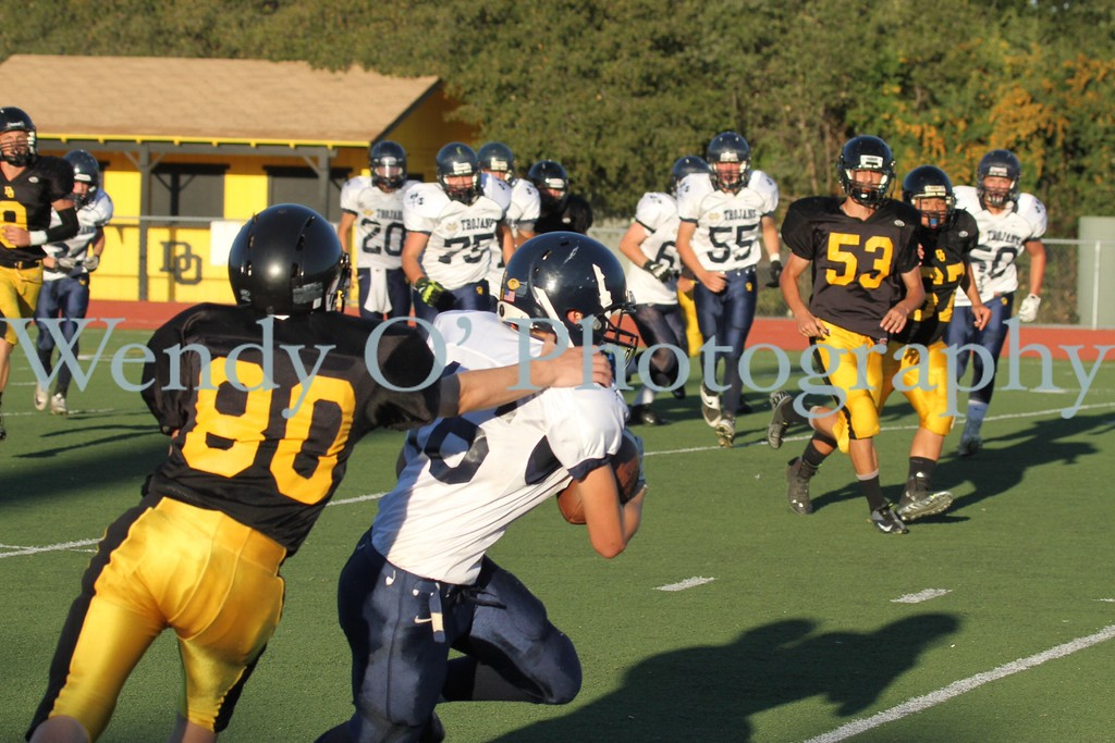 Frosh vs Oakridge 2013