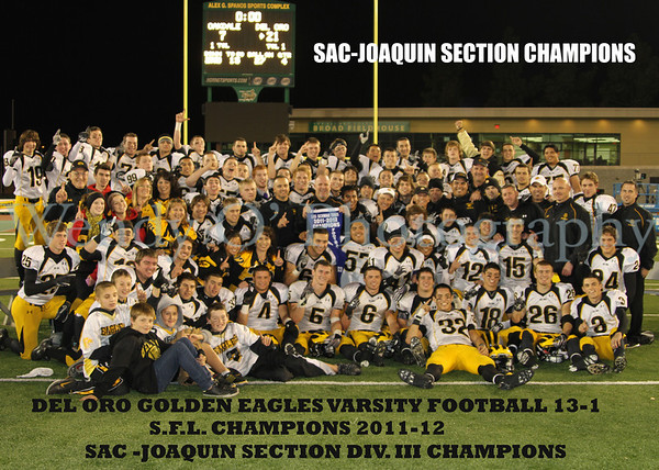 Section Champions 2011!!!