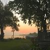 Sunrise over Delavan