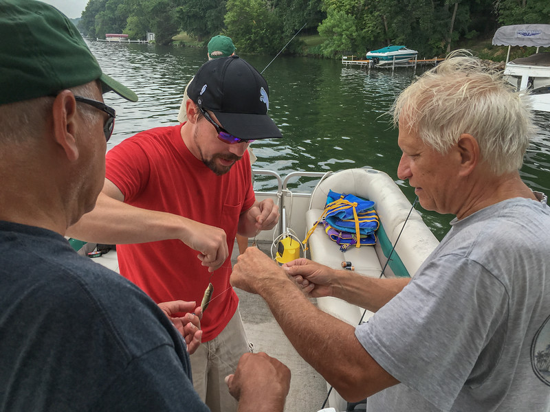 How many Trattners does it take to untangle a line?
