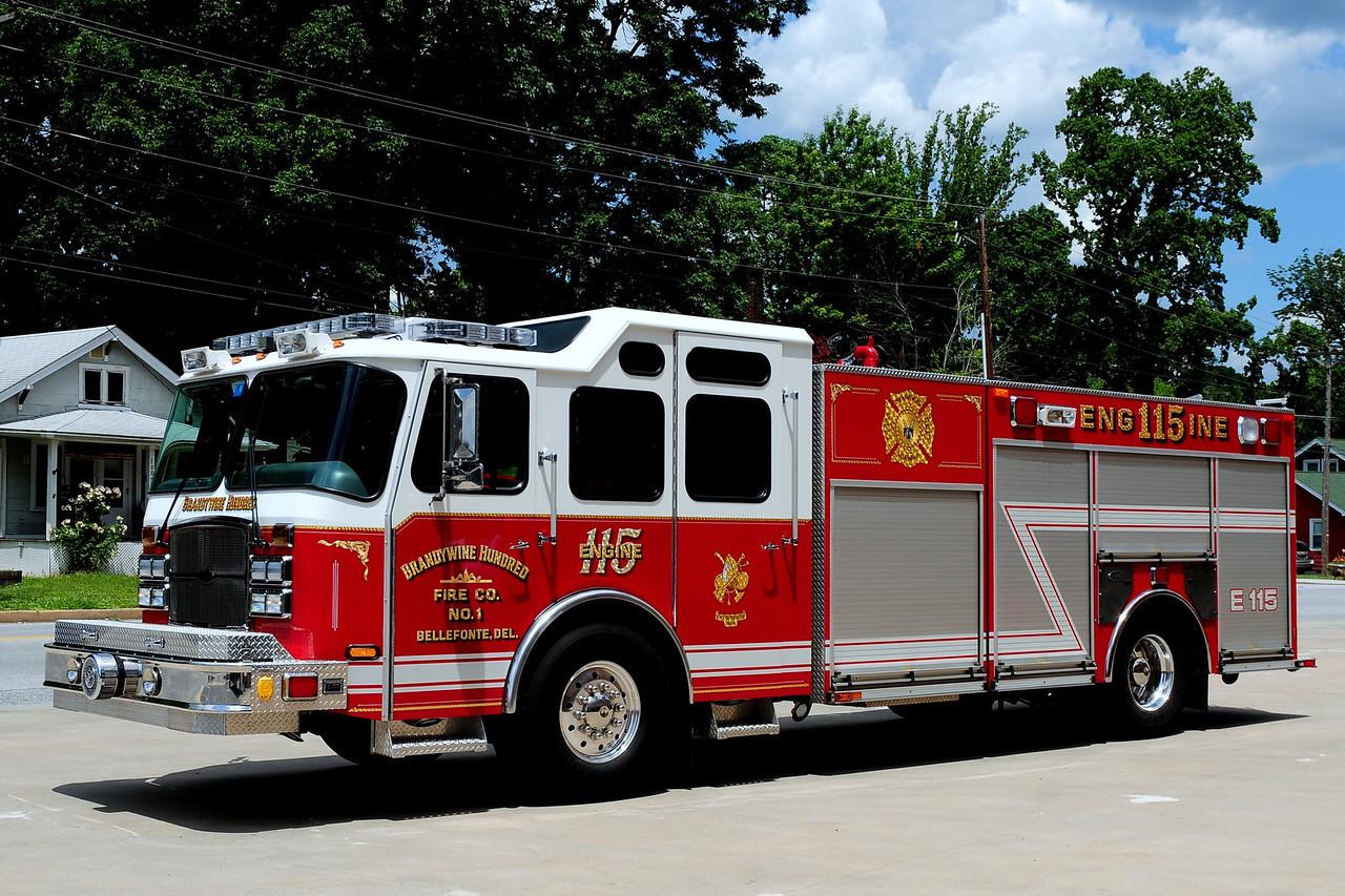 BrandywineHundred Fire Co    Engine  115   2006 Emergency-One/ Saulsbury   1250/ 750