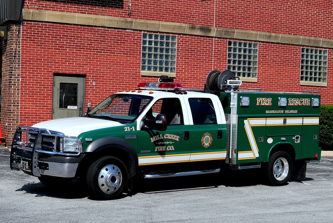 Mill Creek Fire Dept Tactical Support Unit 2-1 2005 Ford F-450 / Reading