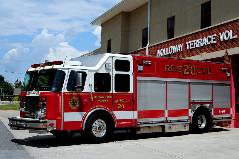 Holloway Terrace  Fire Co  Rescue  20  1998 Emergency-One  750/ 500