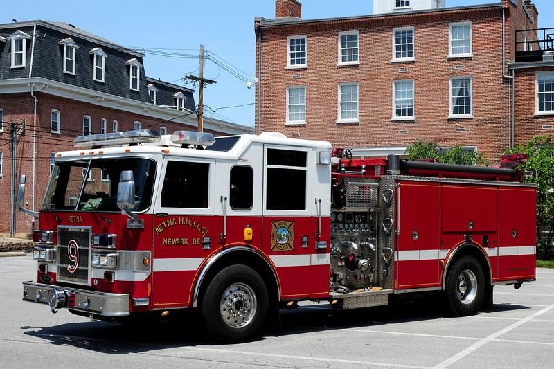 Aetna Hose Hook & Ladder  Co  Engine  9-5   2005  Pierce  Dash  2000/ 750