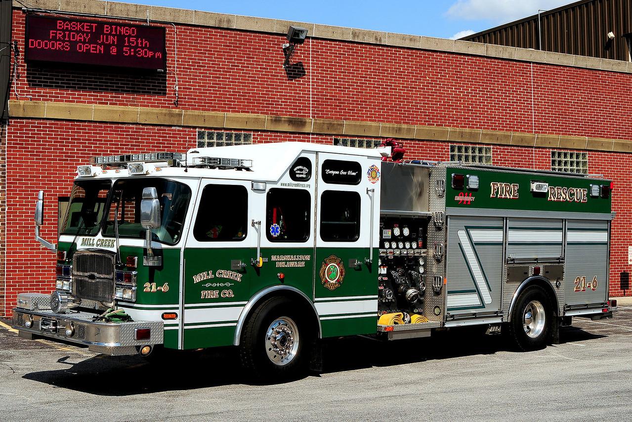Mill  Creek Fire Dept Rescue Engine 2-6 2006 Emergency-One 2000/ 650 / 100 Class B Foam