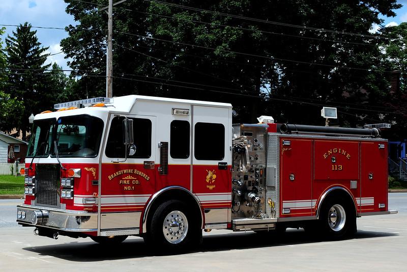 BrandywineHundred Fire Co Engine 113  1998 Spartan/ Saulsbury   1250/ 750