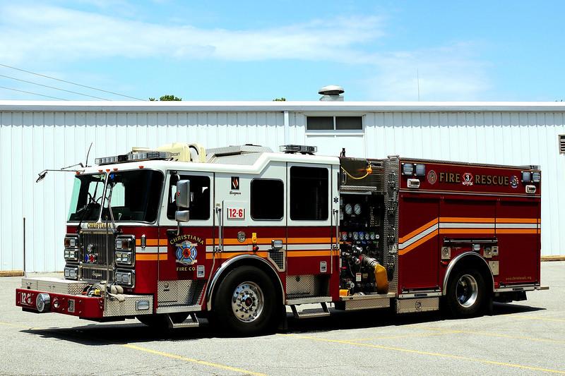 Christiana Fire Dept   Engine  12-6   2009 Seagrave Marauder II  1500/ 750