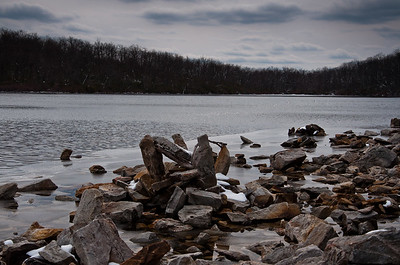 A Cold Winter Day at Sunfish Pond Delaware Water Gap NRA