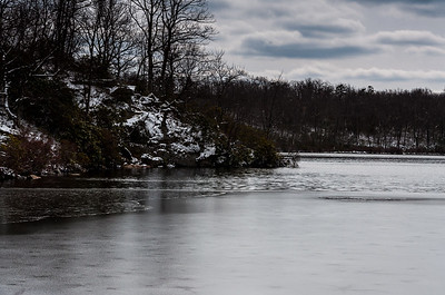 A Cold Day at Sunfish Pond, Delaware Water Gap NRA