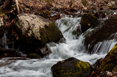 Waterfalls Along Dunnfield Creek Delaware Water Gap NRA