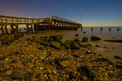 Port Mahon Delaware Night