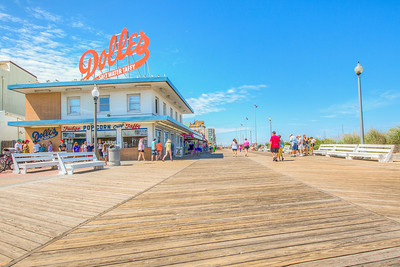 Boardwalk, Rehoboth Beach, Delaware, USA