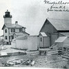 A view of the Mispillion Lighthouse at the beginning of the 20th century. You can view the replica light built in Lewes at www.lighthousefriends.com/mispillion3_2006.jpg