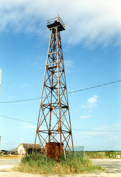 In 1929 the Lighthouse Service decided to sell the property and move the light to a skeleton tower. The steel tower was relocated from Cape Henlopen. The steel tower exhibited the Mispillion Light until it was decommisioned by the Coast Guard in 1984.
