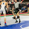 (126) Nicholas Nardone of Delbarton (2) wins by decision to Brandon Bowles of Scotch Plains-Fanwood (15) 12-6 in the Pre-quarterfinal round at the NJSIAA Wrestling Championships in Atlantic City, NJ on March 5, 2020