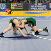(113) Cross Wasilewskiof Delbarton (11) looses by decision to Ty Whalen (6) of Clearview 2-3 in the Pre-quarterfinal round at the NJSIAA Wrestling Championships in Atlantic City, NJ on March 5, 2020