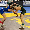 (106)Tyler Vazquez of Delbarton (2) looses by decision to John Hilderant of Williamstown (12) 2-5 in the Pre-quarterfinal round at the NJSIAA Wrestling Championships in Atlantic City, NJ on March 5, 2020