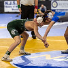 Tyler Vazquez of Delbarton (106) Beats Dylan Acevedo of Sayreville at the NJ State Wrestling Finals in Atlantic City, NJ
