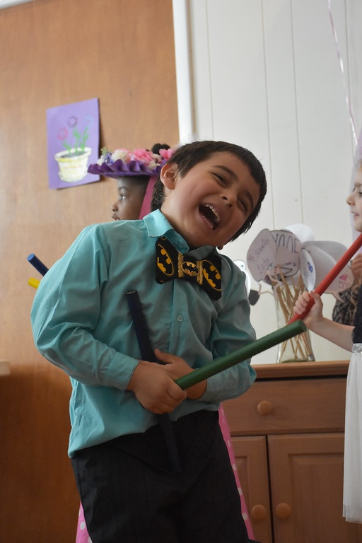 . Students at St. Stephen\'s Preschool in Norwood performed and enjoyed breakfast honoring their moms.