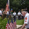 East Lansdowne celebrated the Fourth of July with an unveiling of the a piece of the World Trade Center from 911 and a parade. East Lansdowne Borough celebrated the Fourth of July by unveiling a piece of the World Trade Center and a parade.