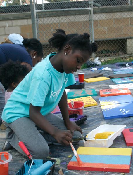 PHOTOS: Lansdowne Community builds playground