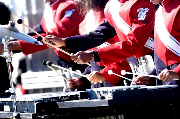 PHOTOS: Penn Wood Band  plays on
