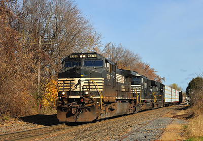 Delaware & Hudson 930, Rouses Point, New York, November 12 2016.