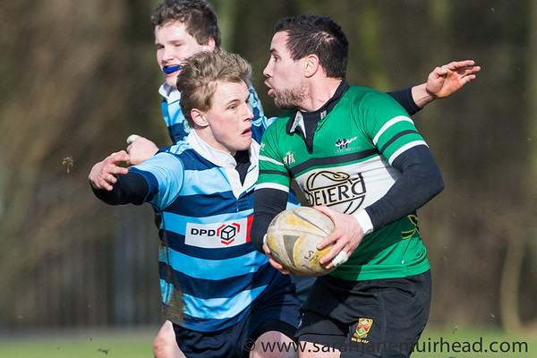 Delft 1 vs Oysters 23 February 2014