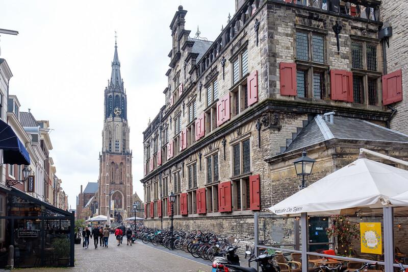 Delft Nieuwe Kerk and City Hall