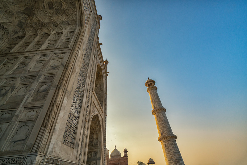 Dusk at the Taj