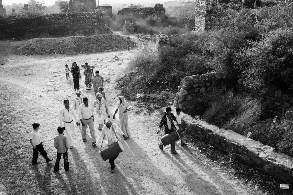 Procession, Sultan Ghari