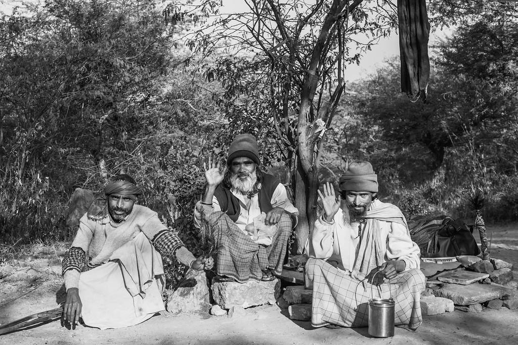 Sufi mystics on the road to the Chillagah of Baba Sheikh Fariduddin Shakar Ganj